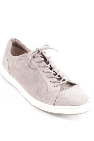 Footglove Schnürschuhe graubraun Casual-Look