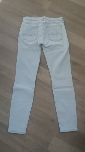 7 For All Mankind Pantalón azul celeste