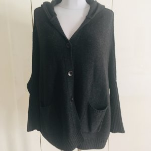 for friends only Knitted Poncho anthracite