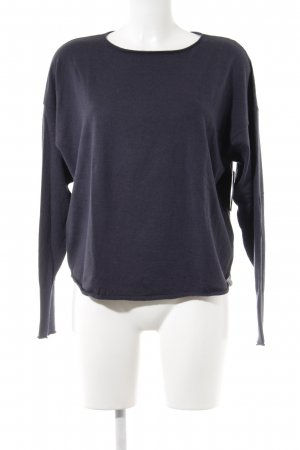 for friends only Cashmerepullover dunkelblau Casual-Look