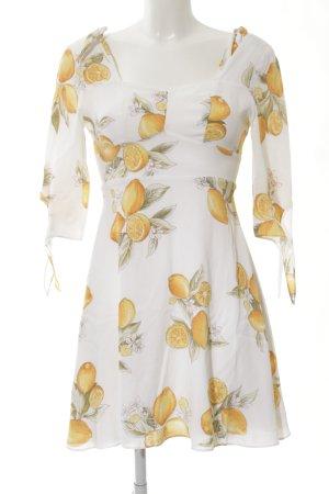 For Love & Lemons Trägerkleid florales Muster Casual-Look