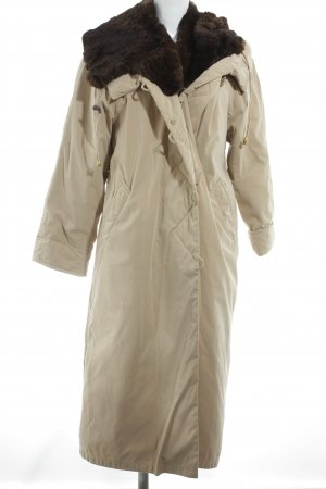 Fordan Abrigo de invierno camel-marrón oscuro look casual