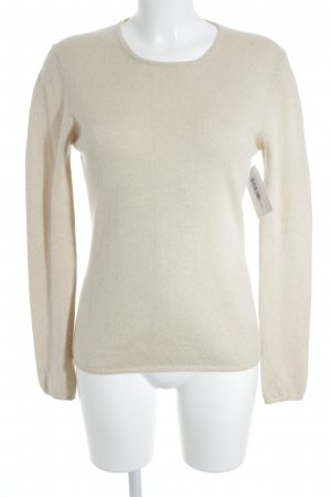 Forest Hill Rundhalspullover creme Casual-Look