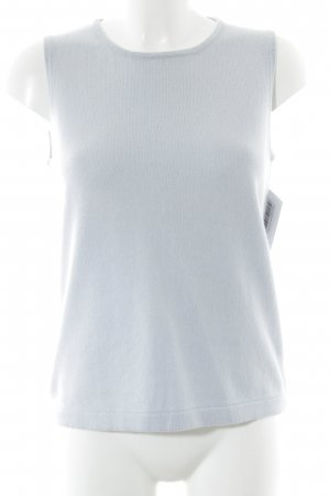 Forest Hill Stricktop himmelblau Casual-Look
