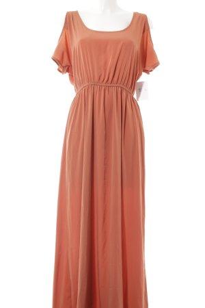Forever 21 A-Linien Kleid apricot-orange Elegant