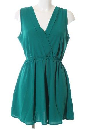 Forever 21 A-Linien Kleid türkis Elegant