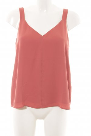 Forever 21 ärmellose Bluse pink Business-Look