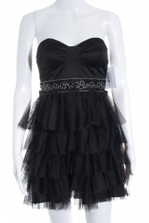 Forever 21 Bandeau Dress black extravagant style