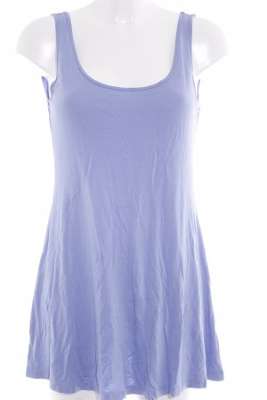 Forever 21 Top basic blu fiordaliso stile casual