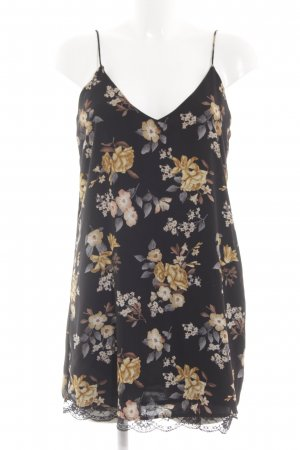 Forever 21 Chiffonkleid Blumenmuster Casual-Look