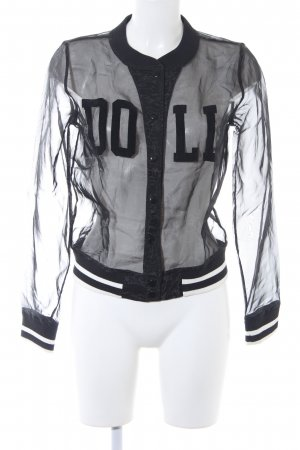 Forever 21 College Jacket black casual look