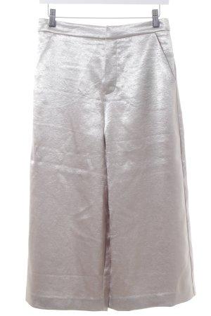Forever 21 Pantalone culotte oro scintillante