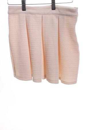 Forever 21 Flared Skirt cream elegant