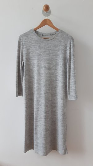 Forever 21 Graues Jersey Kleid