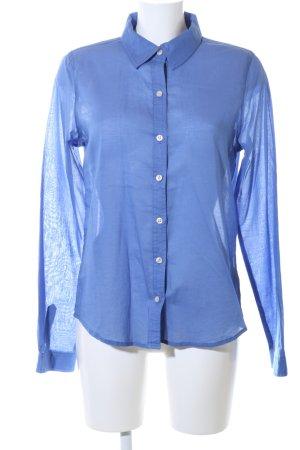 Forever 21 Hemd-Bluse blau Business-Look
