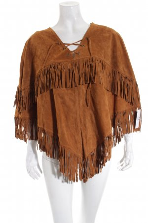 Forever 21 Jacke hellbraun Country-Look
