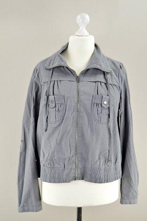 Forever 21 Jacke mit Gummizug grau Größe XL
