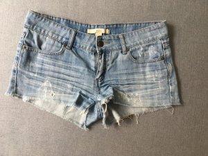 Forever 21 Short en jean bleu azur