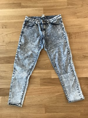 Forever 21 Hoge taille jeans blauw-leigrijs