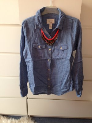 Forever 21 jeansbluse Blau