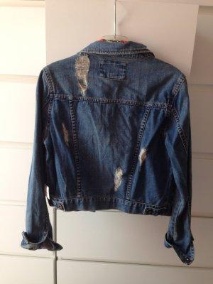 Forever 21 jeansjacke mit Rissen NEU