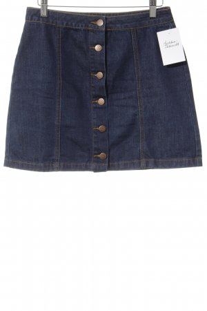 Forever 21 Jeansrock dunkelblau Casual-Look