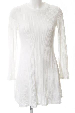 Forever 21 Jerseykleid wollweiß Elegant