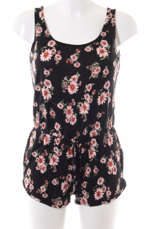 Forever 21 Jumpsuit Blumenmuster Casual-Look