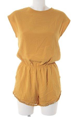 Forever 21 Tuta giallo-oro stile casual
