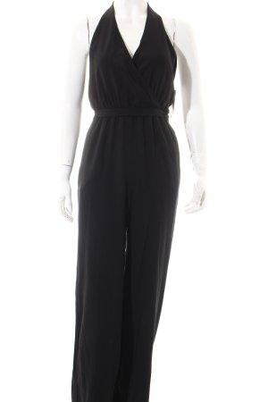 Forever 21 Jumpsuit schwarz klassischer Stil
