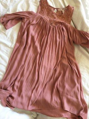Forever 21 Cut out jurk roségoud
