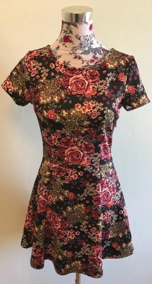 Forever 21 Kleid: Blumenmuster, kurz