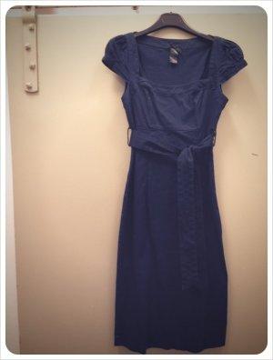 FOREVER 21 Kleid Etuikleid figurbetont blau Gr. S