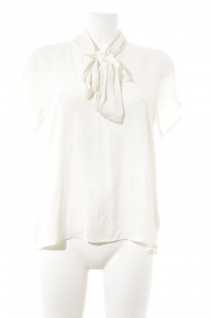 Forever 21 Kurzarm-Bluse creme Casual-Look
