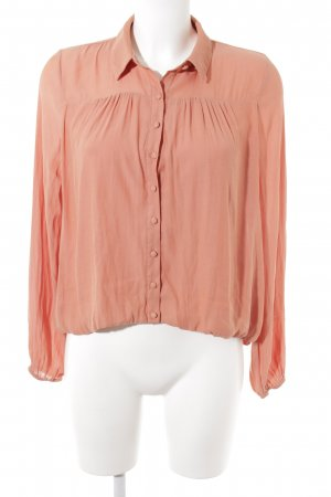 Forever 21 Langarm-Bluse apricot Casual-Look