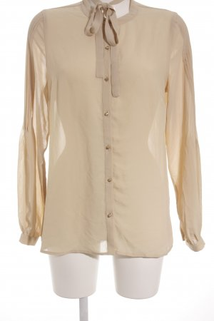 Forever 21 Langarm-Bluse nude Casual-Look