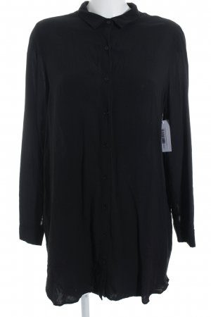 Forever 21 Langarm-Bluse schwarz Casual-Look