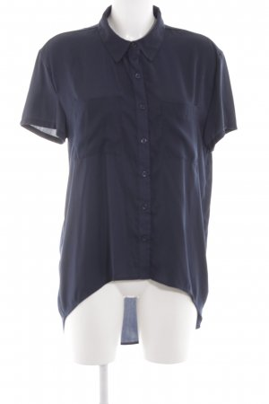 Forever 21 Long-Bluse dunkelblau Casual-Look