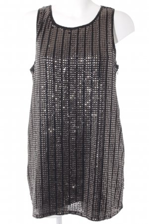 Forever 21 Minikleid schwarz-grau Elegant