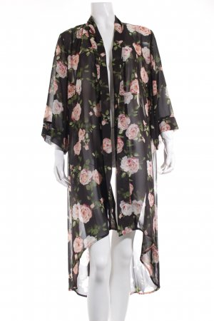 Forever 21 Morgenmantel florales Muster Casual-Look