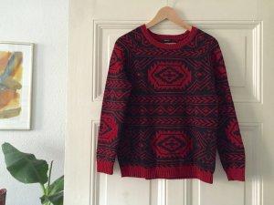 Forever 21 Pullover, Azteken Muster, Gr. M