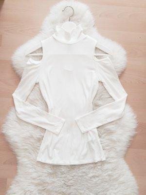 Forever 21 Pullover Off Shoulder Blogger Shirt Cold Shoulder NEU Gr.S