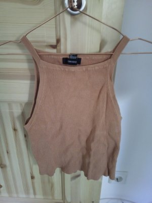 Forever 21 Top senza maniche color cammello