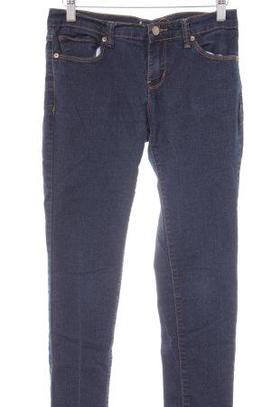 Forever 21 Jeans a sigaretta blu-blu scuro stile casual