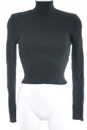 Forever 21 Turtleneck Sweater forest green casual look