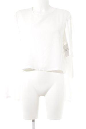 Forever 21 Schlupf-Bluse weiß Elegant