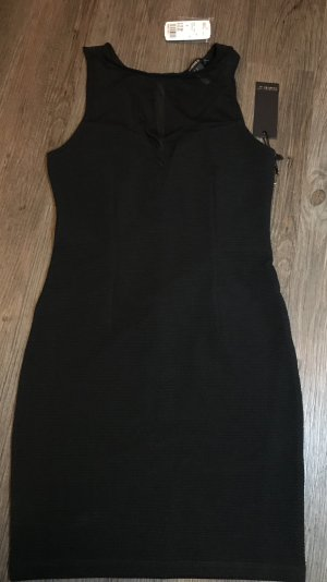 Forever 21 schwarzes Skinny Kleid