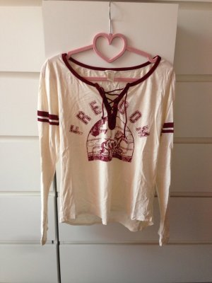 Forever 21 Shirt mit lace up wie neu