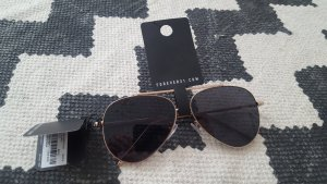Forever 21 Aviator Glasses gold-colored-dark grey