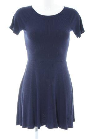 Forever 21 Stretchkleid blau Casual-Look